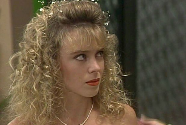 Kylie Minogue as Charlene in Neighbours