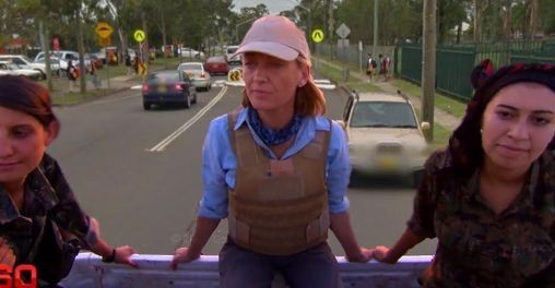 Channel Nine reporters forced to wear bulletproof vests in Western Sydney