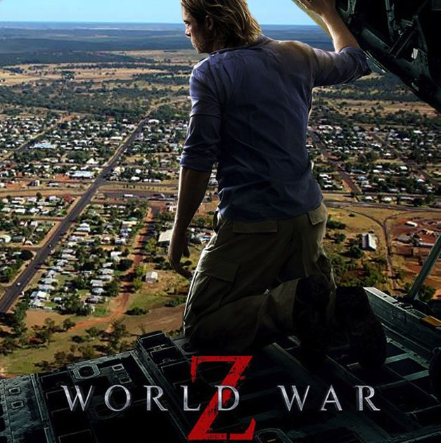The promotional poster for World War z 2 featuring Wellington in the background. PHOTO: Paramount Pictures