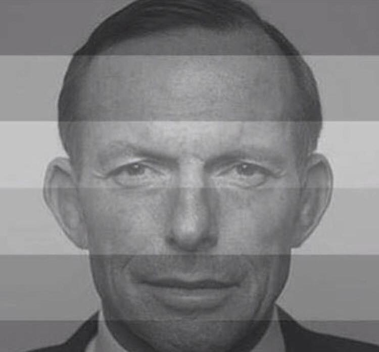 The photo that was uploaded to Tony Abbott's facebook