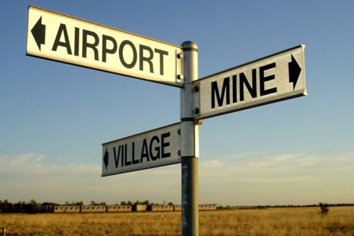 "Moranbah is now not much more than an airport and mine. The ""village"" is slowly  disappearing."