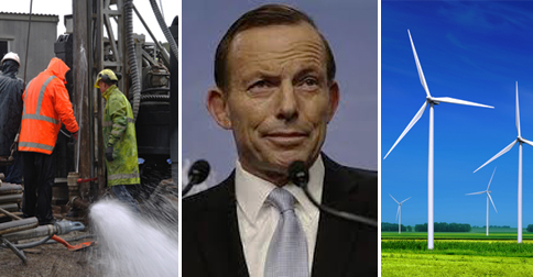 "Tony Abbott Suggests Fracking Drills Are ""Far Sexier"" Than Wind Turbines"