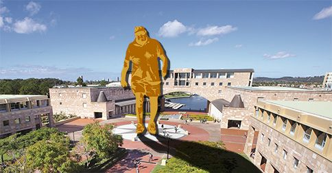 Bond University plan giant memorial to founding father Alan Bond