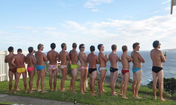 Australians appear to be proud of the fact that most of their bodies don't look like oil paintings
