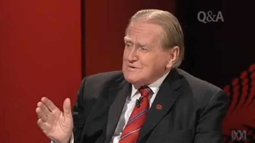 Fred Nile appeared on a special Thursday night Q&A and made a few strange comments.  PHOTO: Supplied.