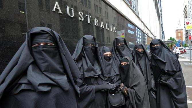 Immigrants are scary now because they look like ninjas. PHOTO: Supplied.