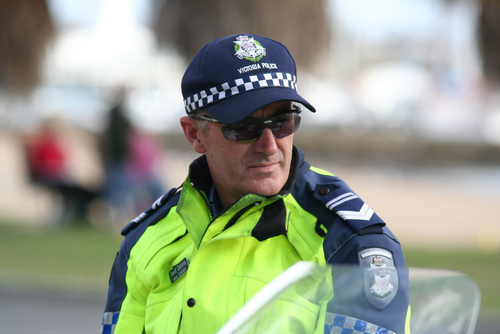 """Drugs will ruin your life, if I catch you"" says community-minded policeman"