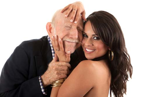 27-year-old Stacie Courtenay is a successful home-owner in Sydney. She says she owes it all to her husband, Horace (82)