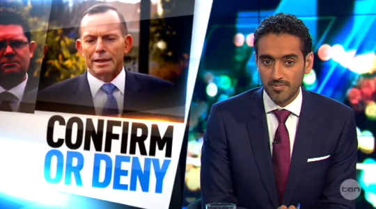 Tony Abbott Refuses To Deny That He Also Tried To Bribe Waleed Aly
