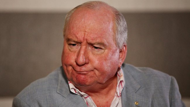 Radio personality and kingmaker, Alan Jones
