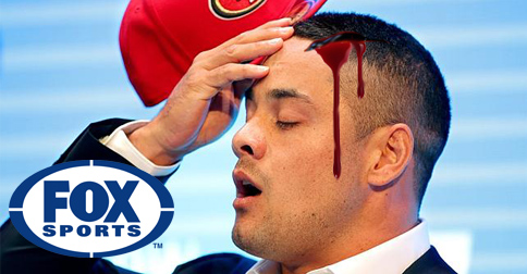 Fans Mourn As Jarryd Hayne Is Violently Flogged To Death By FoxSports