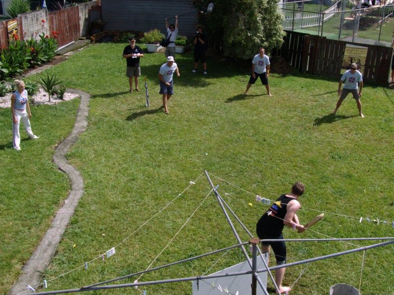 The Australian tradition of backyard cricket has gotten much more competitive in recent years. PHOTO: Supplied.