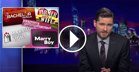 Charlie Pickering Hijacks Marriage Debate By Demanding The Right To Marry Himself