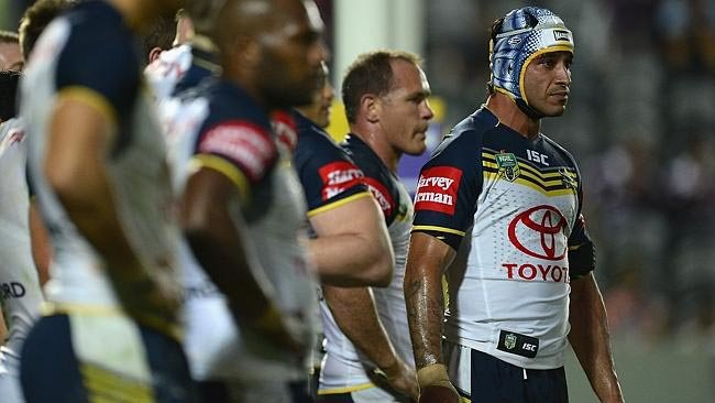 The North Queensland Cowboys have come along way since the days of seven tackle tries