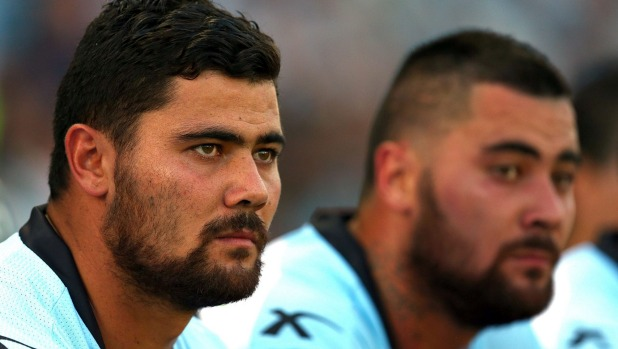 The Fifita twins are being disciplined for acting like people who enjoy watching rugby league