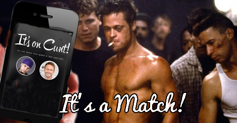 """It's like Tinder, but for people who want to fight"""
