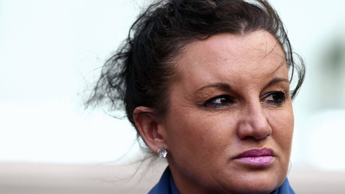 "Senator Lambie reveals that her life coach reckons ""she has what it takes"" to sit on the same panel as Alan Jones tonight"