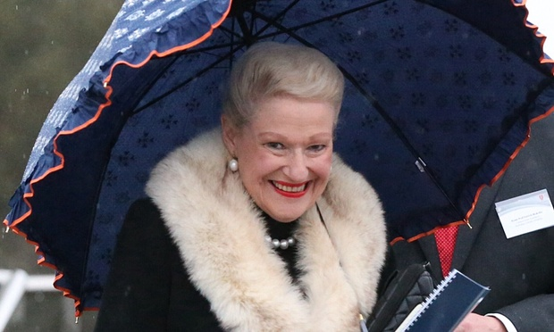 Mrs Bishop has been order to turn in her mink shawl. PHOTO: Supplied.