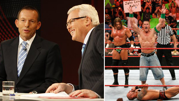 Abbott Pressures ABC To Replace Q&A With WWE Monday Night Raw