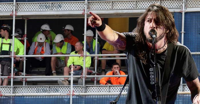 5 Foo Fighters Songs Guaranteed To Make Tradies Get A Little Emotional On Site