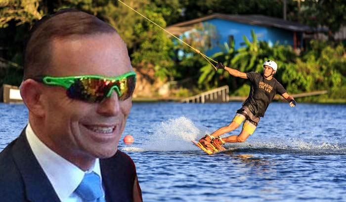 Government says waterboarding at Nauru sounds like 'something cool teenagers do on holiday'