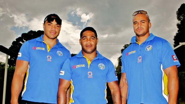 Former Parramatta Eels NRL Superstars: Willie Tonga, Chris Sandow and Esi Tonga are all products of the wild town of Cherbourg