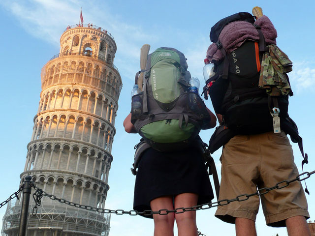 Young backpackers are increasingly disregarding the use of maps and travel books, opting to use their own facebook as a way to find their way around a country that none of their friends have been to.