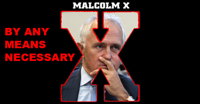 Malcolm Turnbull Rejects His Liberal Slave Name