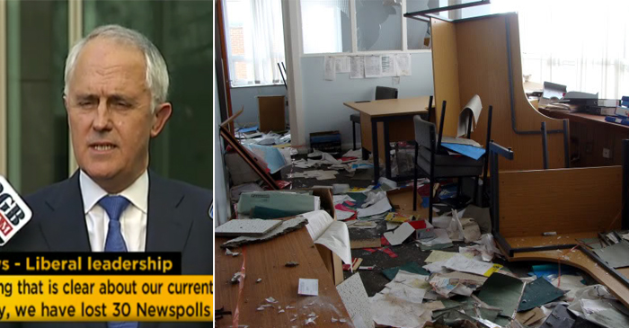 Bill Shorten's Office Found Empty Following #LibSpill Announcement