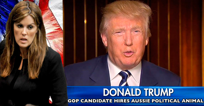 Donald Trump Asks Peta Credlin To Help Make America Great Again