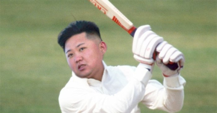 Kim Jong-un saves North Korean innings with top score of 807*