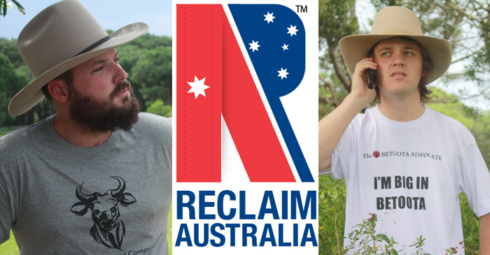 "Reclaim Australia Movement Declares ""War On The Betoota Advocate"""