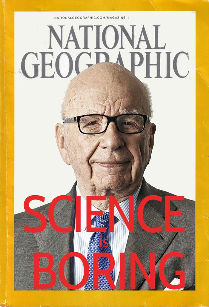 The leaked October 2015 National Geographic cover mockup. PHOTO: Supplied.