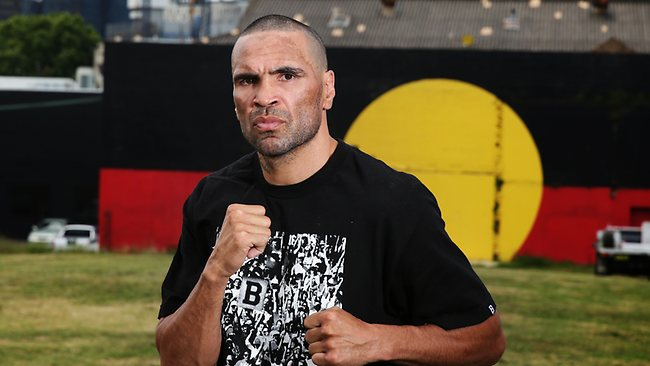 Aboriginal Boxer Anthony Mundine