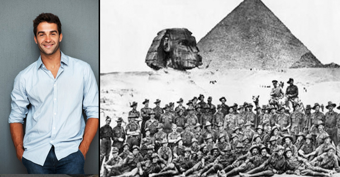 Aussie Backpacker Honours ANZAC Legend by Contracting Chlamydia in Egyptian Brothel