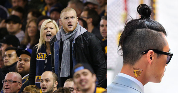 West Coast Eagles Fan Disgusted To Learn What A Top-Knot Is