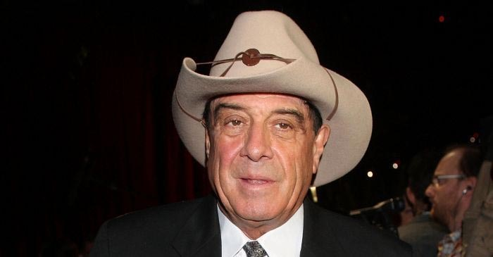 Molly Meldrum was famously felled by a stray golf ball at Turnbull's home in 1998. He was it in the throat. PHOTO: Supplied.