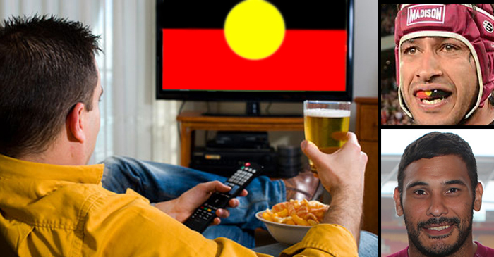 Victorian Man Plans To Boo At Television During NRL Grand Final