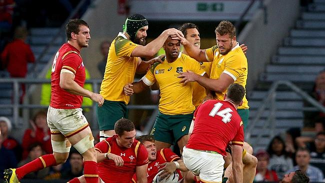 Wales were unlucky as the last Northern Hemisphere team to be marched out by Australia