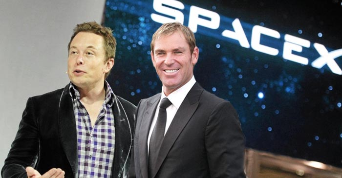 Shane Warne and Elon Musk team up to do something truely great for mankind