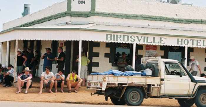Local man slapped with jay-walking ticket in Birdsville