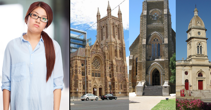 Tourist In Adelaide Finds Herself Bored Enough To Actually Check Out All The Churches