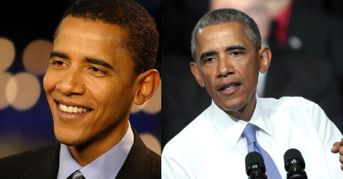 "Obama says ""he's been living in dog years"" since winning the presidency in 2008. PHOTO: Supplied."