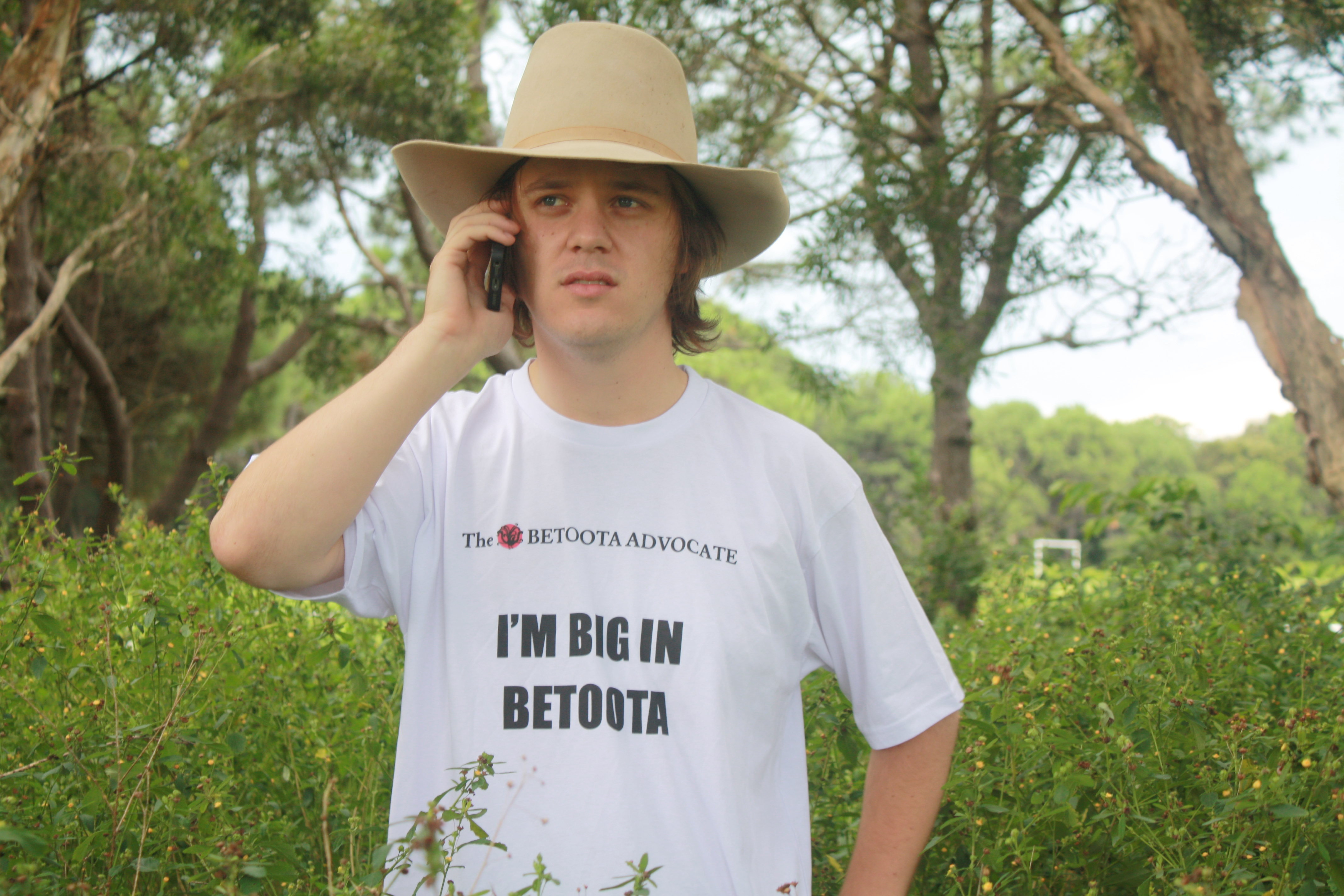 Errol Parker, editor-at-large and part owner of The Betoota Advocate