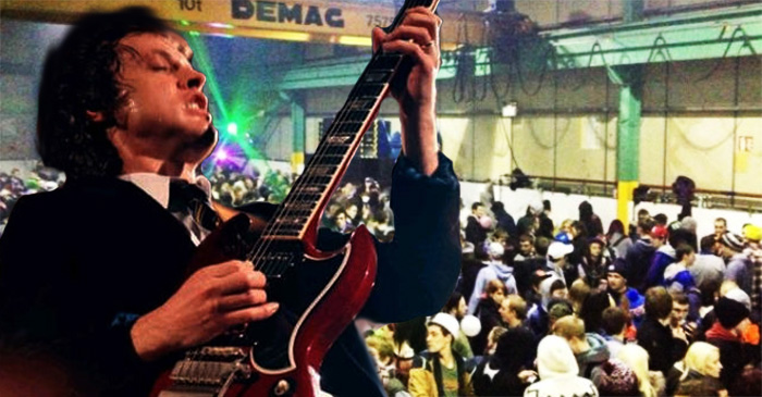 AC/DC's music used by police to break up illegal warehouse parties