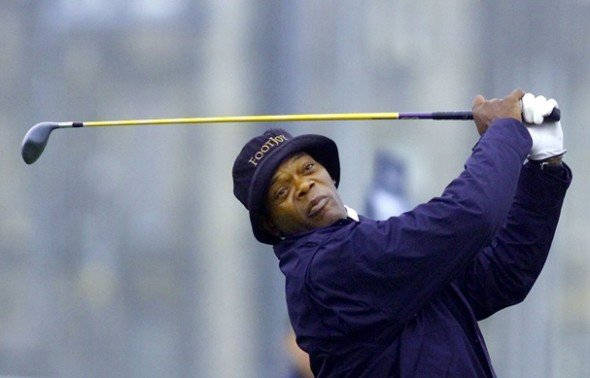 Samuel L Jackson could very well have his rights to play golf stripped from him if Donald Trump thinks it will get him votes