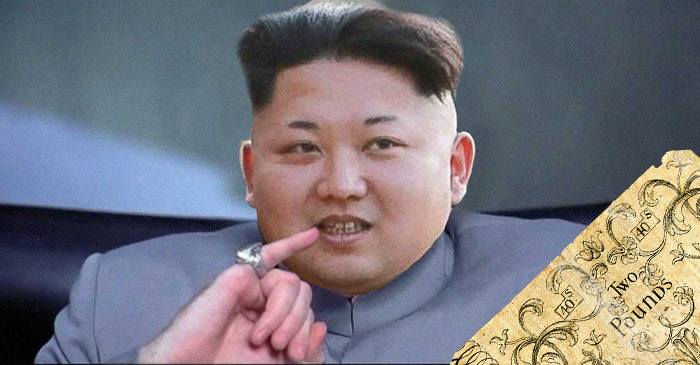 Kim Jong-un demands 5 million Rhode Island Pounds to halt further bomb tests