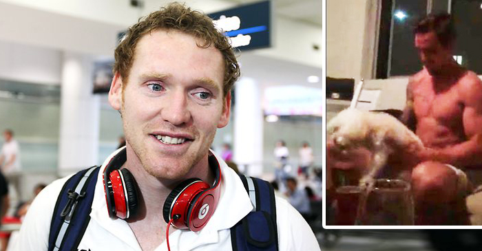 Joel Monaghan Sneers At Mitchell Pearce's Half-Hearted Attempt At Rooting A Dog