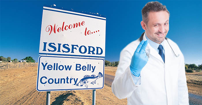 Isisford farmer shocks himself by letting out moan during prostate exam