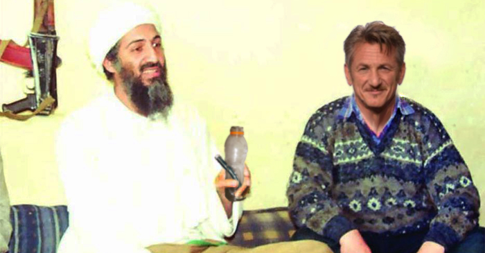 White House Releases Photos Of Sean Penn Smoking Marijuana With Osama Bin Laden